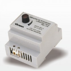 Variador de intensidad luminosa para Riel Din. 4 módulos. www.electronicargentina.com